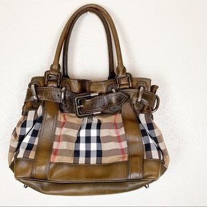 Burberry Housecheck large Beaton bag